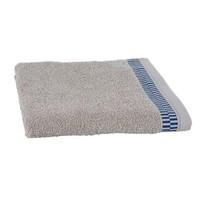 Luxe handdoek Blocks Zand + 2 washandjes