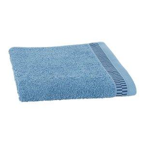 Clarysse Luxe handdoek Blocks Blauw + 2 washandjes