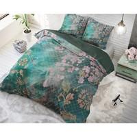 Dreamhouse Tiran Flower Green Dekbedovertrek