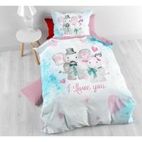 Sleeptime Kids Love Multi Dekbedovertrek