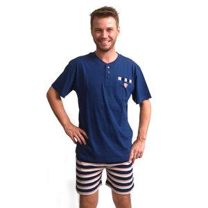 Outfitter Heren Shortama Outfitter Blauw