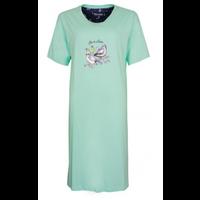 Medaillon Dames Nachthemd korte mouw
