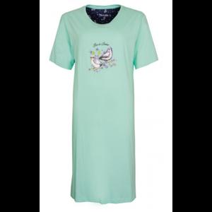 Medaillon Medaillon Dames Nachthemd korte mouw