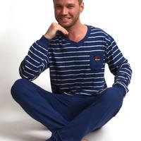 Pyjama met boordjes