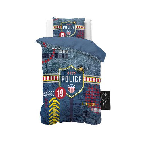 Sleeptime Sleeptime Kids Policeman Blue Dekbedovertrek