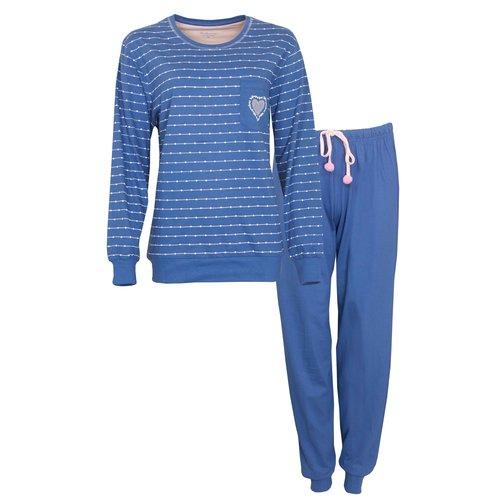 Tenderness Tenderness Dames Pyjama met boordjes 1008A