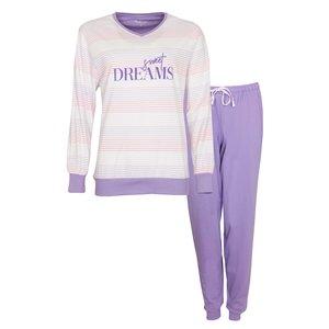 Tenderness Tenderness Dames Pyjama met boordjes 1006A