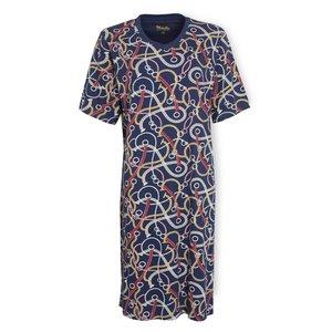 Medaillon Medaillon Dames Nachthemd korte mouw 1001A