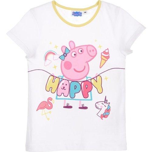 Eigen merk Peppa Pig Shortama Meisje Geel