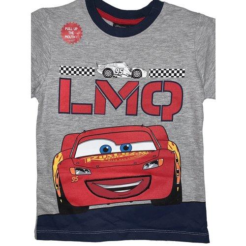 Disney Disney Cars Shortama Jongen Grijs/Rood