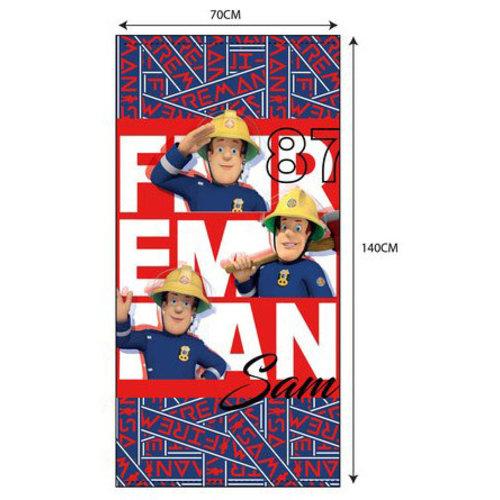 Fireman Sam Brandweerman Sam Strandlaken