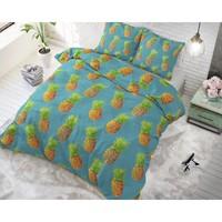 Sleeptime Pineapples Blue Dekbedovertrek