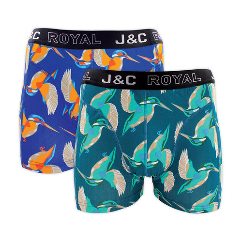 J&C Ondergoed J&C Heren Boxershorts 4-pack