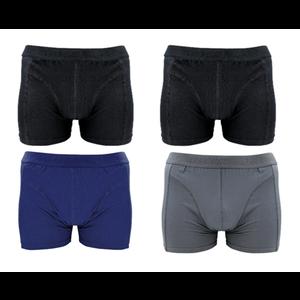 J&C Ondergoed J&C Heren Boxershorts 4-pack uni