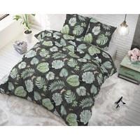 Sleeptime Botanical Anthracite Dekbedovertrek