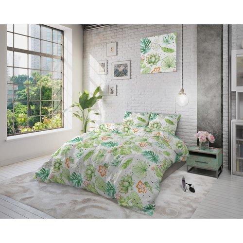 Sleeptime Sleeptime Light Garden White Dekbedovertrek