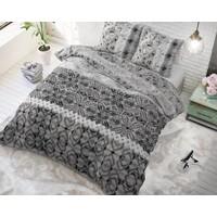 Sleeptime Retro Vivien Grey Dekbedovertrek
