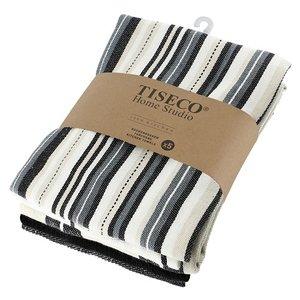 Tiseco Home Studio Tiseco Theedoek (5-pack, Zwart)