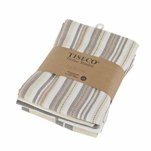 Tiseco Home Studio Tiseco Theedoek (5-pack, Taupe)