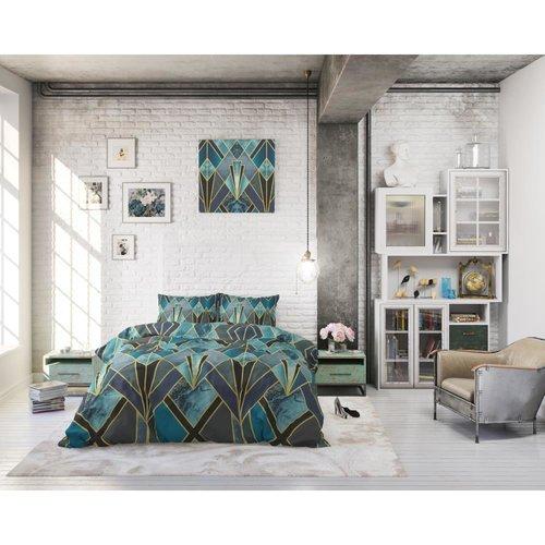 Sleeptime Sleeptime Triangle Deco Black Dekbedovertrek