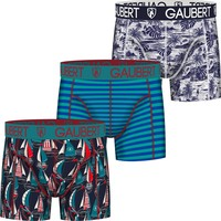 Gaubert Boxershorts 3-pack katoen