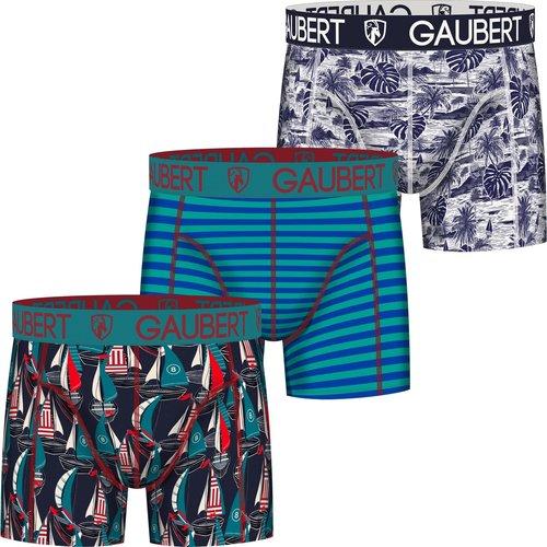 Gaubert Gaubert Boxershorts 3-pack katoen