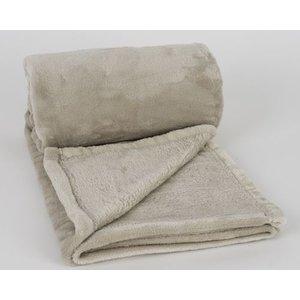 Clarysse Clarysse Plaid Soft Fleece Zand