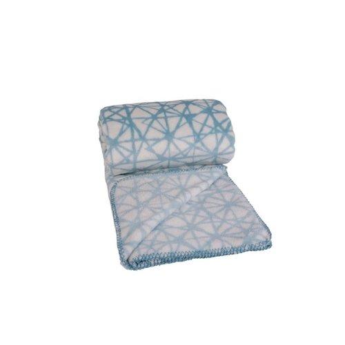 Clarysse Clarysse Plaid Web Blauw