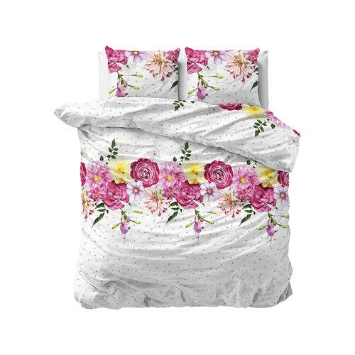 Sleeptime Sleeptime Soft Flanel Love Garden Dekbedovertrek