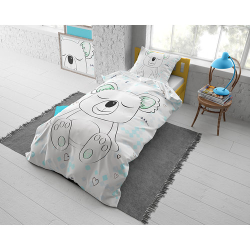 Dreamhouse Dreamhouse Kids Sleepy Koala Dekbedovertrek