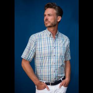 Henderson GCM Henderson Overhemd geblokt korte mouw 5437-750