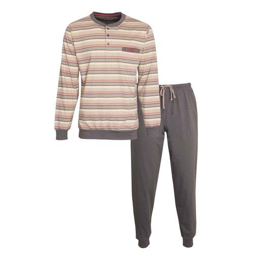 Paul Hopkins Paul Hopkins Heren Pyjama met boordjes 1106A