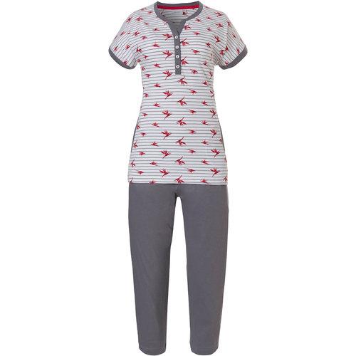 Pastunette Pastunette Dames Pyjama met drie kwart broek