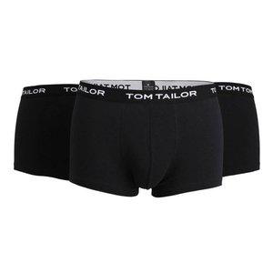 Tom Tailor Tom Tailor Heren Boxershorts 3-pack zwart