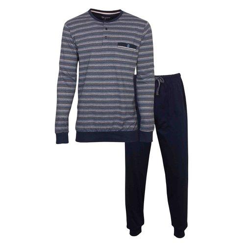 Paul Hopkins Paul Hopkins Heren Pyjama met boordjes 1102A