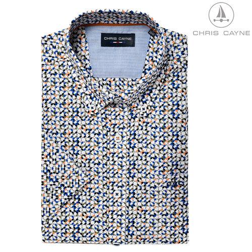 Chris Cayne Chris Cayne Overhemd korte mouw