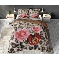 Dreamhouse Floral Panther Brown Dekbedovertrek