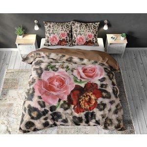 Dreamhouse Dreamhouse Floral Panther Brown Dekbedovertrek