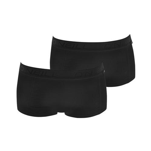 O'Neill O'Neill Dames Boxershorts 2-pack zwart