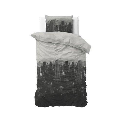 Sleeptime Sleeptime In Town Grey Dekbedovertrek