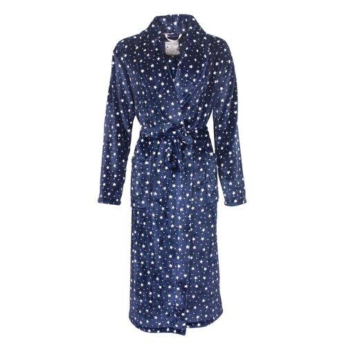 Tenderness Tenderness dames badjas blauw