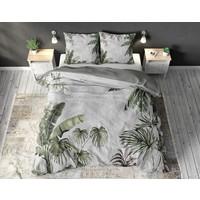 Sleeptime Forest Jungle Grey Dekbedovertrek