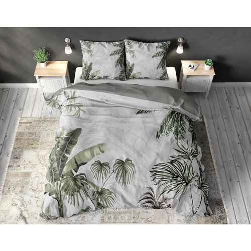 Sleeptime Sleeptime Forest Jungle Grey Dekbedovertrek