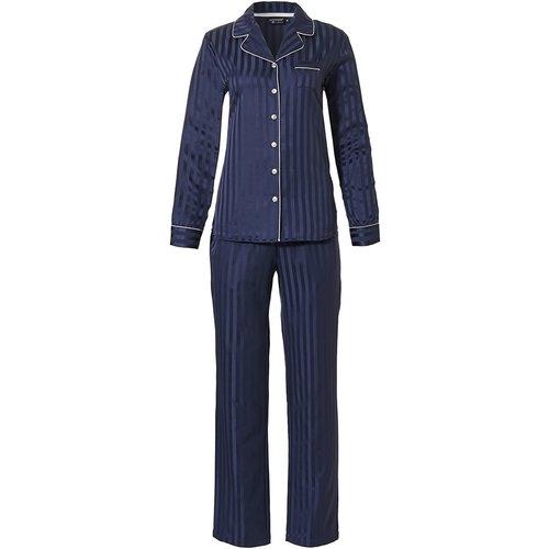Pastunette Pastunette Deluxe dames pyjama satijn doorknoop