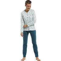 Pastunette dames pyjama stripes & birds