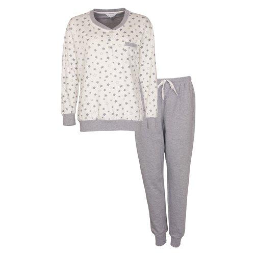Tenderness Tenderness dames pyjama dikke tricot - extra warm
