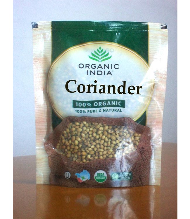 Organic India biologische Coriander Whole 100g