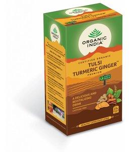 Organic India biologische Tulsi Turmeric Ginger premium