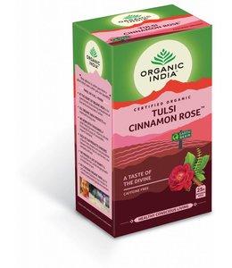 Organic India biologische Tulsi Cinnamon Rose