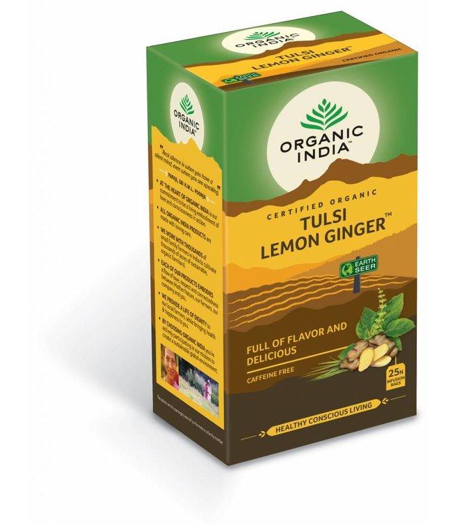 Organic India biologische Tulsi Lemon Ginger